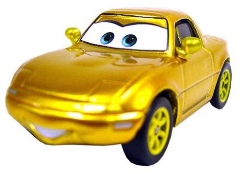 Disney Cars Loose Gold Tia Diecast Car [Loose]