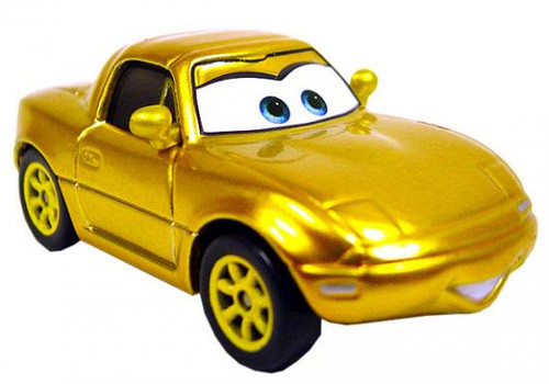 Disney Cars Loose Gold Mia Diecast Car [Loose]