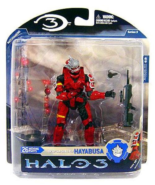 McFarlane Toys Halo 3 Series 3 Spartan Soldier Hayabusa Action Figure [Red]