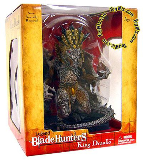 McFarlane Toys Legend of the Blade Hunters Series 1 King Draako Action Figure