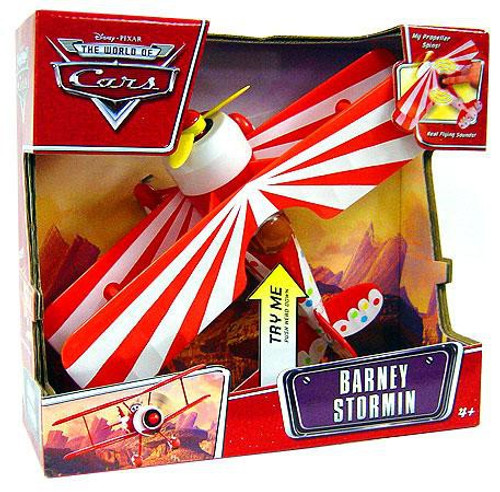 Disney Cars The World of Cars Deluxe Barney Stormin' Plane