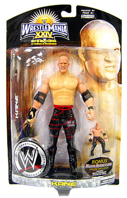WWE Wrestling WrestleMania 24 Best Of Series 1 Kane Exclusive Action Figure