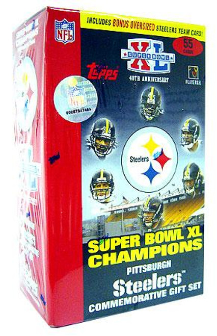 NFL 2006 Topps Football Cards Pittsburgh Steelers Commemorative Gift Set [Super Bowl XL Champions]