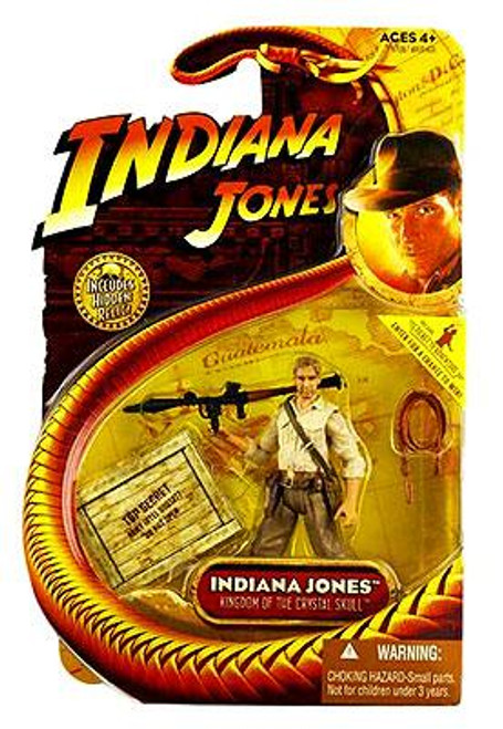 Raiders of the Lost Ark Series 2 Indiana Jones Action Figure [With RPG]