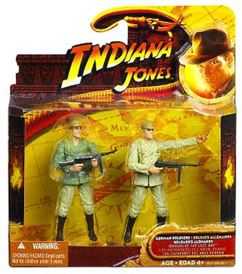 Indiana Jones Raiders of the Lost Ark German Soldiers Action Figure 2-Pack