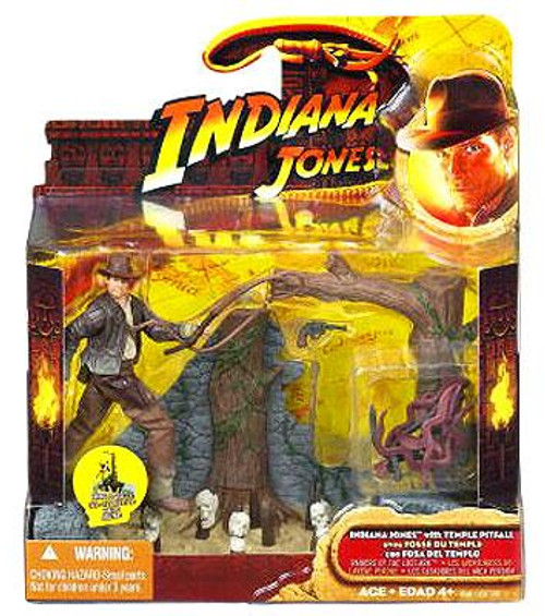Raiders of the Lost Ark Indiana Jones Action Figure [Temple Pitfall]