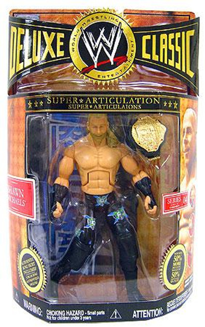 WWE Wrestling Deluxe Classic Superstars Series 4 Shawn Michaels Exclusive Action Figure