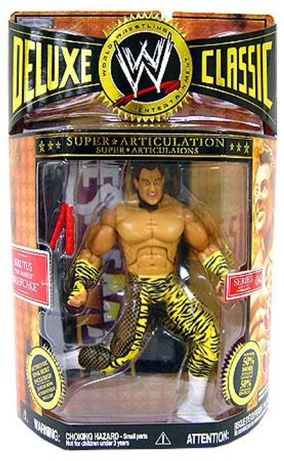 WWE Wrestling Deluxe Classic Superstars Series 4 Brutus Beefcake Exclusive Action Figure