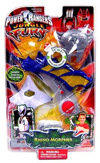 Power Rangers Jungle Fury Rhino Morpher Roleplay Toy