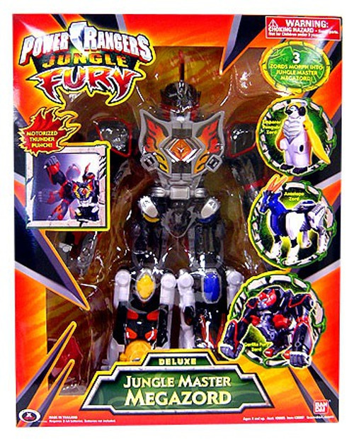 Power Rangers Jungle Fury Deluxe Jungle Master Megazord Action Figure