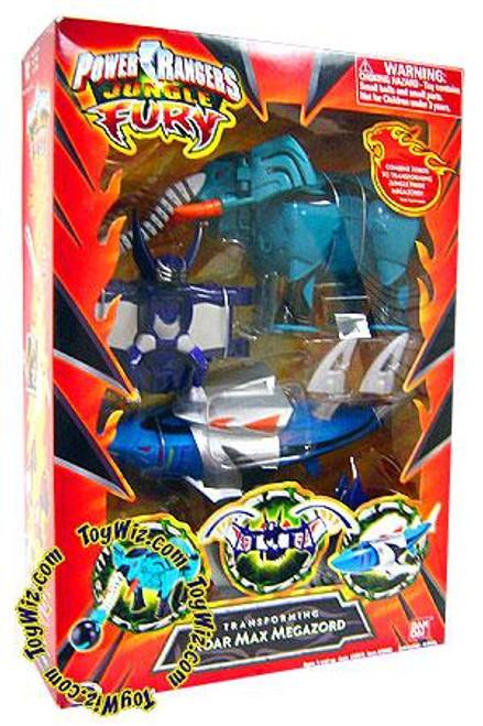 Power Rangers Jungle Fury Deluxe Transforming Roar Max Megazord Action Figure