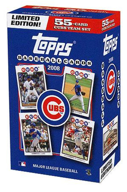 MLB Chicago Cubs 2008 Topps Baseball Cards Team Set [Collector's Edition]