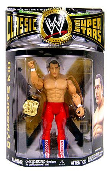 WWE Wrestling Classic Superstars Series 20 Dynamite Kid Action Figure