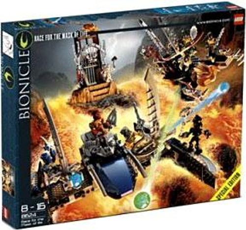 LEGO Bionicle Race for the Mask of Light Set #8624