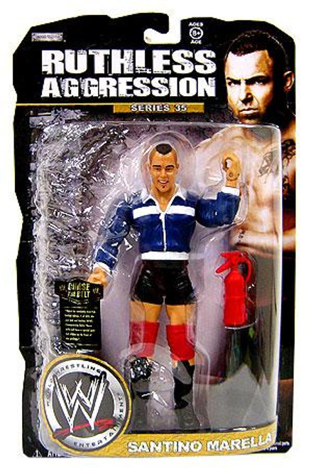 WWE Wrestling Ruthless Aggression Series 35 Santino Marella Action Figure