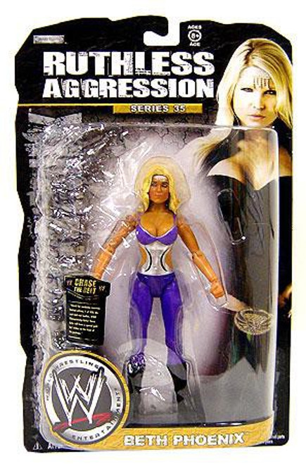 WWE Wrestling Ruthless Aggression Series 35 Beth Phoenix Action Figure