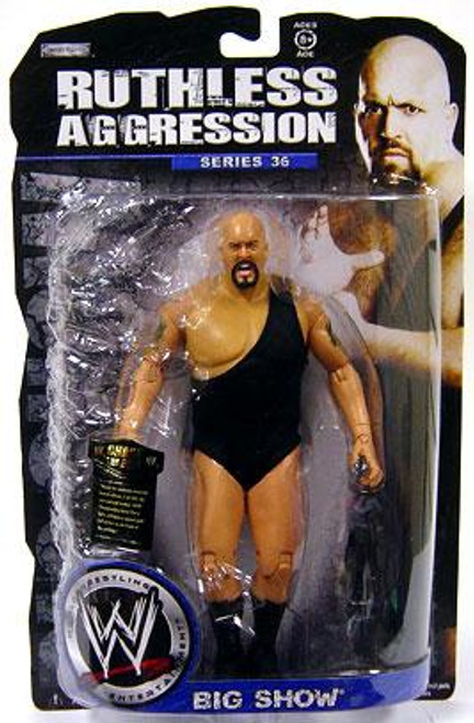 WWE Wrestling Ruthless Aggression Series 36 Big Show Action Figure