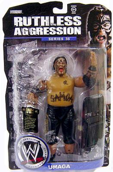WWE Wrestling Ruthless Aggression Series 36 Umaga Action Figure