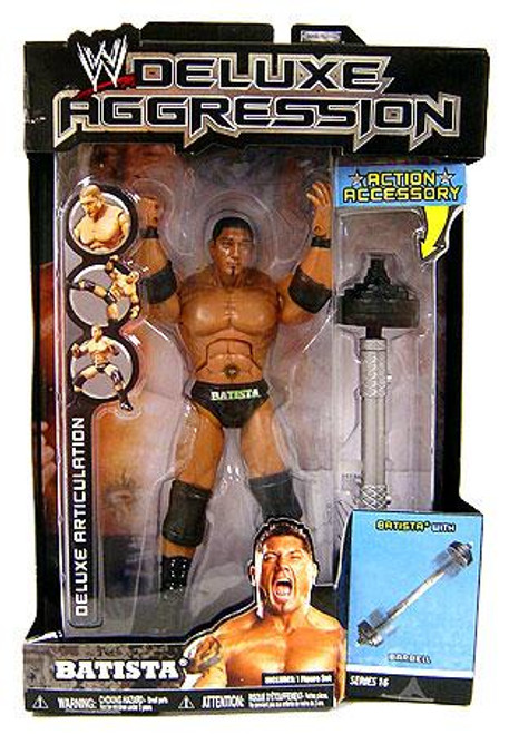 WWE Wrestling Deluxe Aggression Series 16 Batista Action Figure
