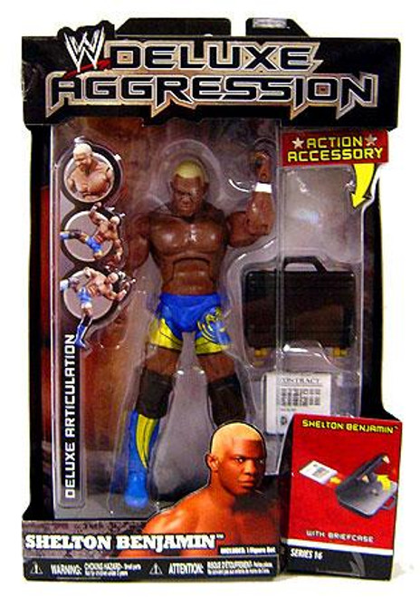 WWE Wrestling Deluxe Aggression Series 16 Shelton Benjamin Action Figure