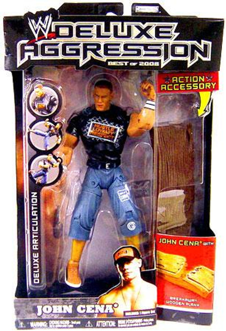WWE Wrestling Deluxe Aggression Best of 2008 John Cena Action Figure