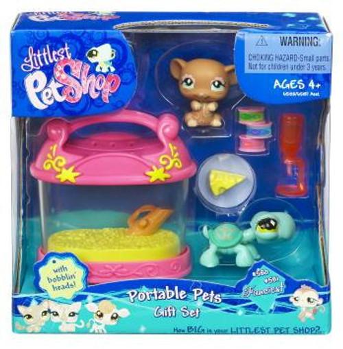 Littlest Pet Shop Portable Pets Gift Set Exclusive Figure 2-Pack #580, 581