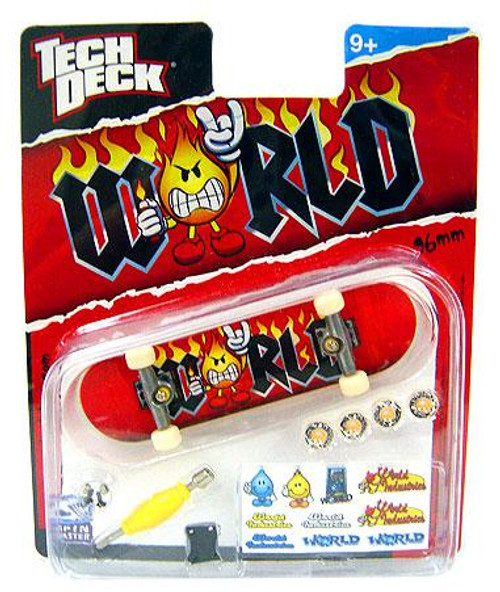 Tech Deck World Industries 96mm Mini Skateboard [Metal Sign]