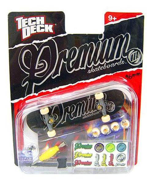 Tech Deck Premium 96mm Mini Skateboard [Black & Gray Logo]