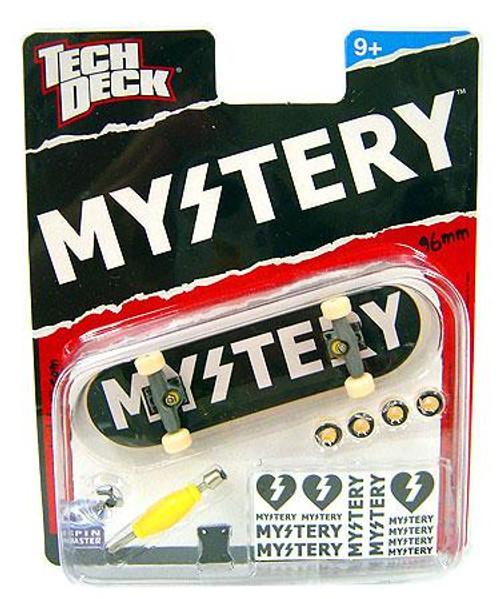 Tech Deck Mystery 96mm Mini Skateboard [Black & White]