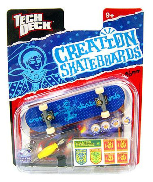 Tech Deck Creation 96mm Mini Skateboard [Blue]