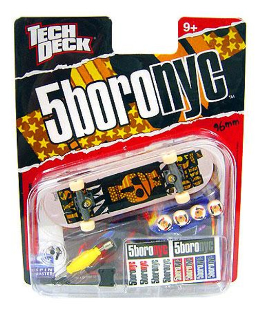 Tech Deck 5boronyc 96mm Mini Skateboard [Dan Pensyl]