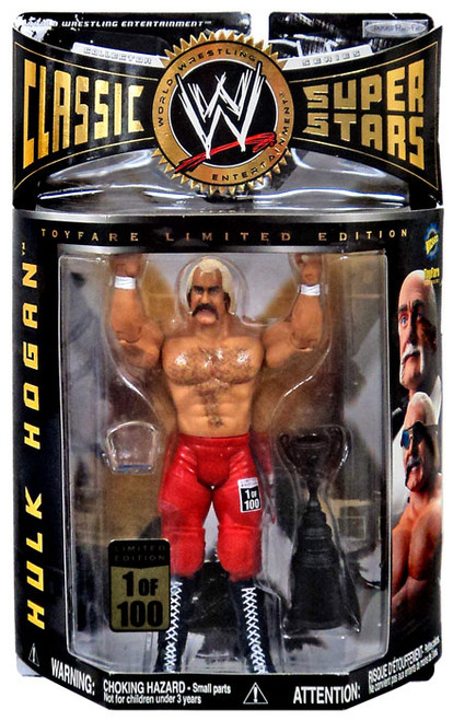 WWE Wrestling Classic Superstars Exclusives Terry the Hulk Hogan Exclusive Action Figure