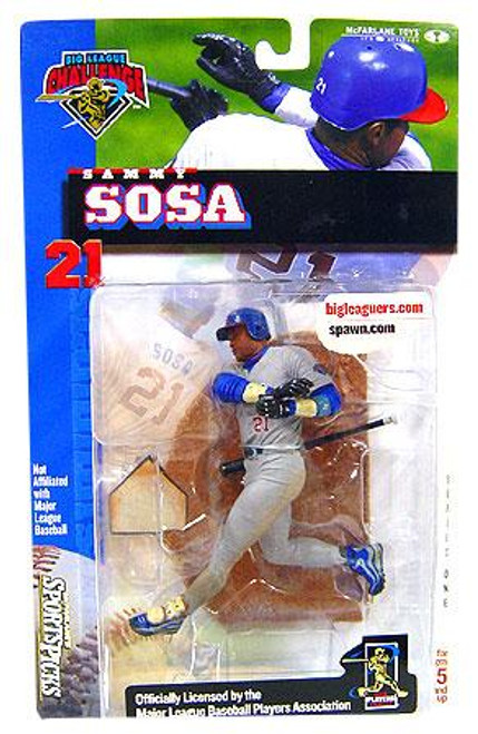 McFarlane Toys MLB Chicago Cubs Sports Picks Big League Challenge Sammy Sosa Exclusive Action Figure