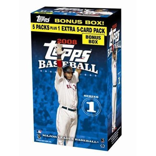 MLB 2008 Topps Baseball Series 1 Trading Card Blaster Box