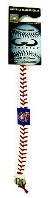 MLB New York Mets Shea Stadium Leather Bracelet