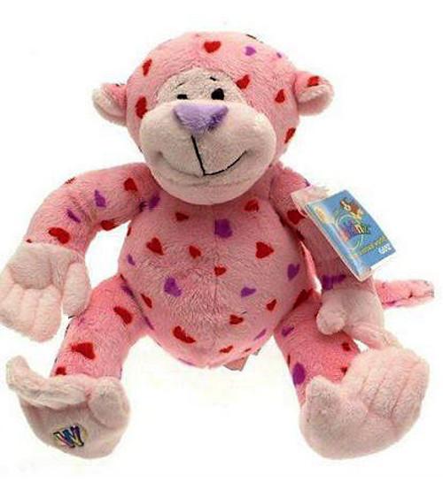 Webkinz Love Monkey Plush