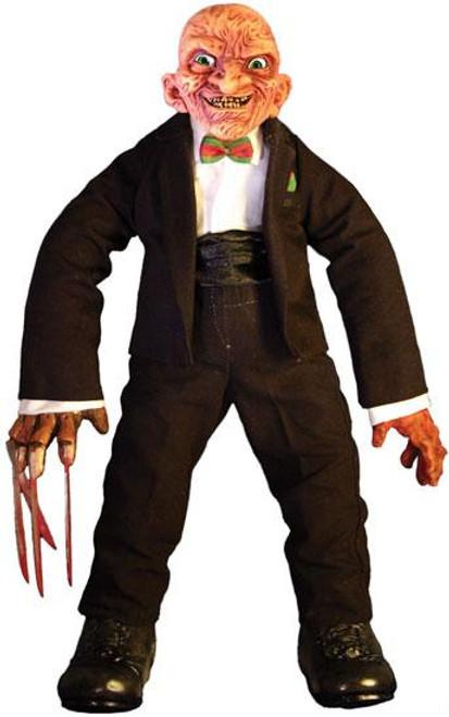 A Nightmare on Elm Street Cinema of Fear Series 2 Freddy Krueger Plush