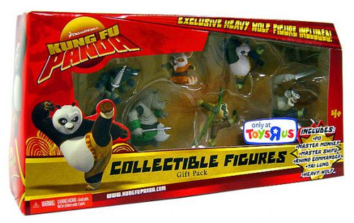 Kung Fu Panda Collectible Figures Gift Pack Exclusive