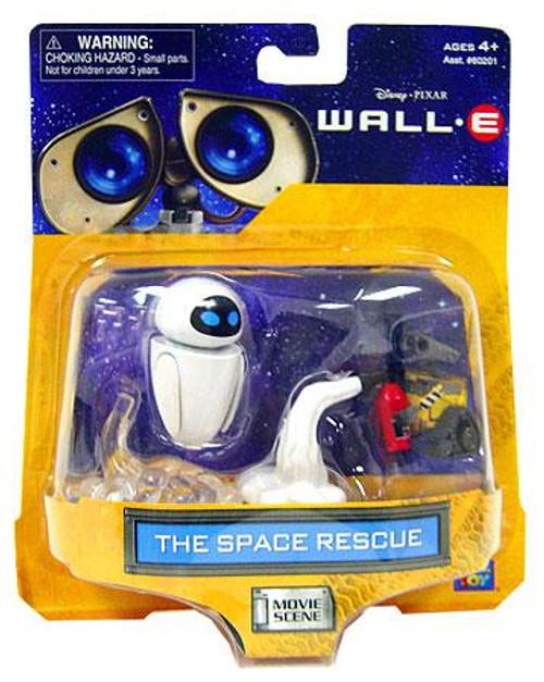 Disney / Pixar Wall-E Movie Scene The Space Rescue Mini Figure 2-Pack