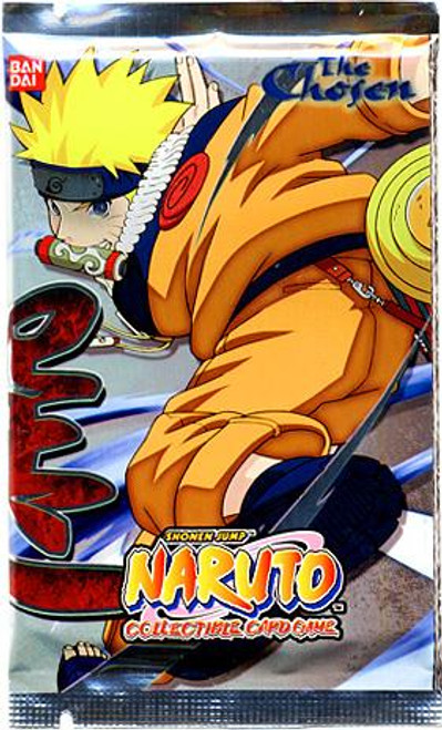 Naruto Card Game Chosen Booster Pack
