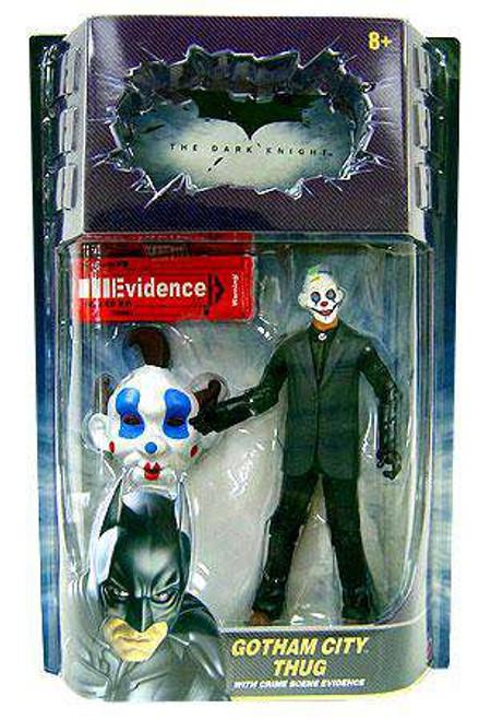 Batman The Dark Knight Gotham City Thug Action Figure [Happy Mask, Brown Hair]