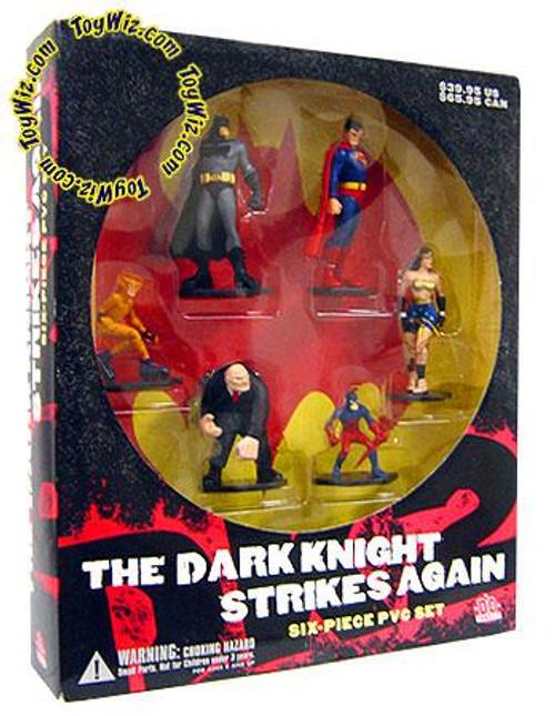 Batman The Dark Knight Strikes Again PVC Figure Set