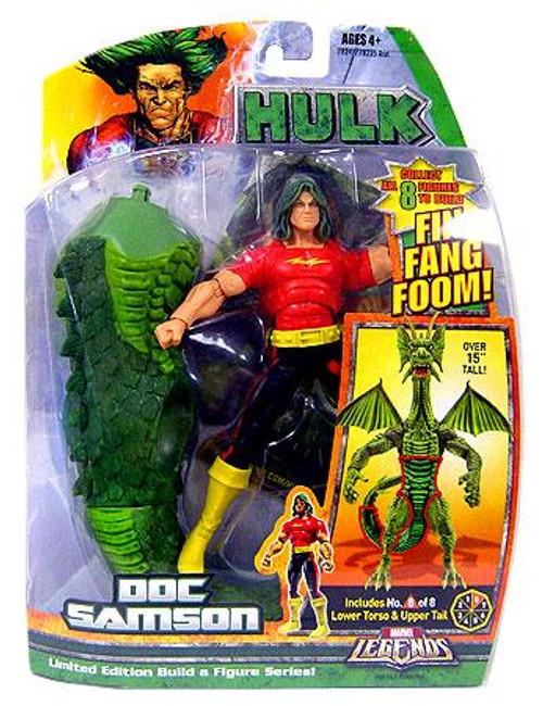 Marvel Legends Hulk Doc Samson Action Figure