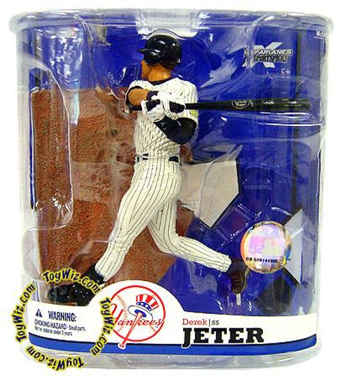 McFarlane Toys MLB New York Yankees Sports Picks Series 22 Derek Jeter Action Figure [Clean Pants Variant]