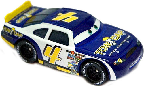 Disney Cars Speedway of the South No. 4 Tow Cap Exclusive Diecast Car