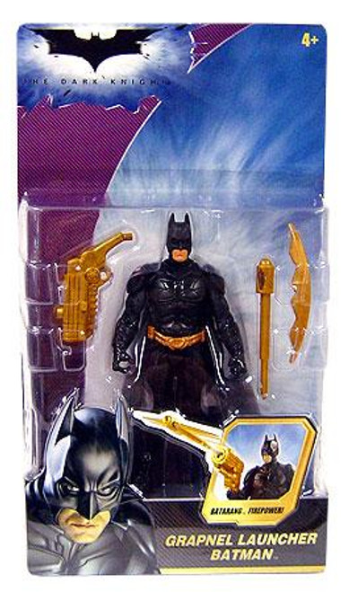 The Dark Knight Batman Action Figure [Grapnel Launcher]