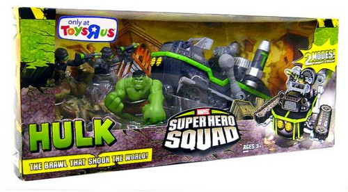 Hulk Super Hero Squad The Brawl That Shook The World Exclusive Action Figure Set