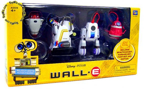 Disney / Pixar Wall-E Reject Bots Exclusive Figure 4-Pack