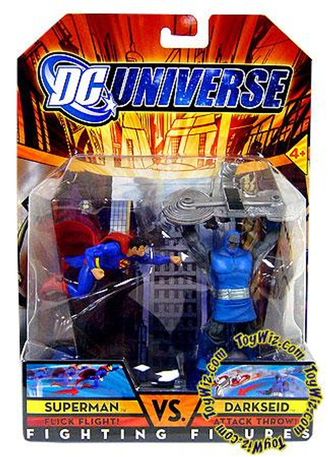 DC Universe Fighting Figures Superman vs. Darkseid Figure Set