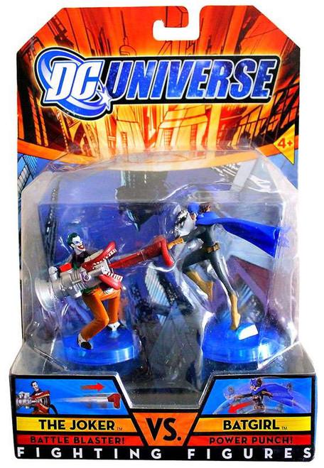 DC Fighting Figures The Joker vs. Batgirl Action Figure 2-Pack